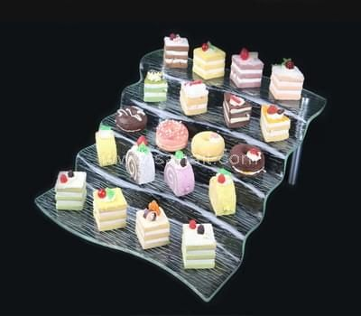 5 tiers acrylic food stand