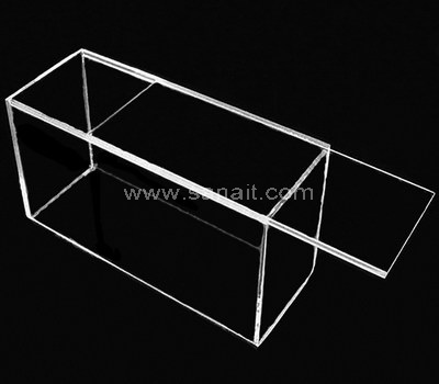 Acrylic Box With Sliding Lid Perspex Box With Sliding Lid Factory
