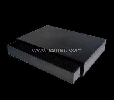 Black acrylic drawer box