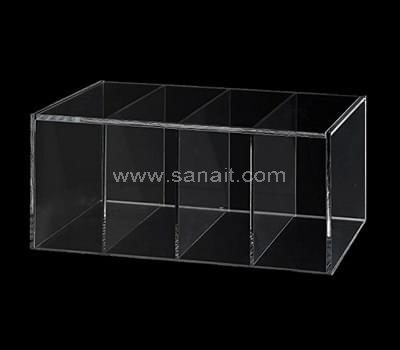 Acrylic box with dividers