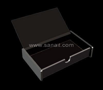 Black acrylic box