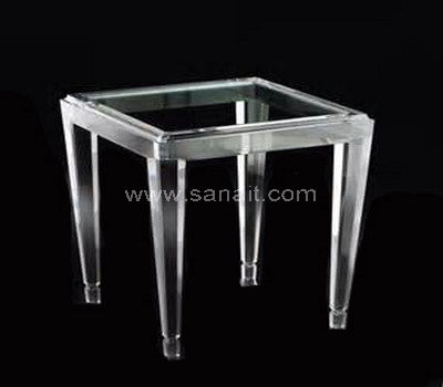 Square acrylic table