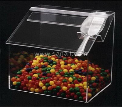 Mini candy bin with scoop