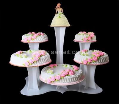 Acrylic cake stands