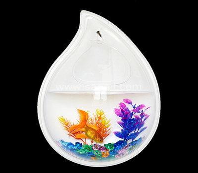 Water drop shaped fish tank