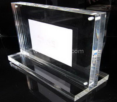 T shaped acrylic photo frame
