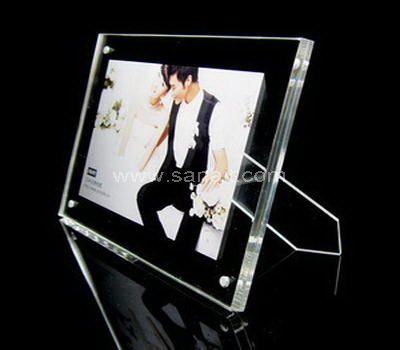 Clear acrylic picture frames