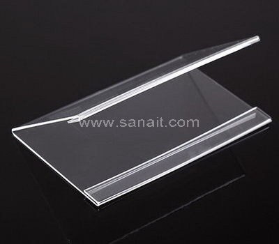 SASH-005-2 V shaped clear acrylic sign holder