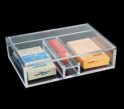 Small acrylic storage box