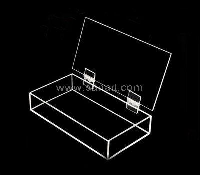 Acrylic hinged box