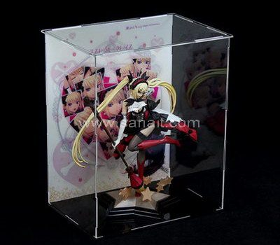 DIY assembled clear display box
