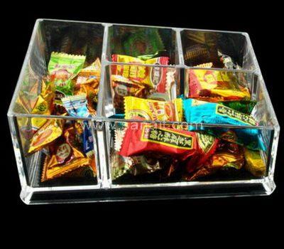 Acrylic candy display trays