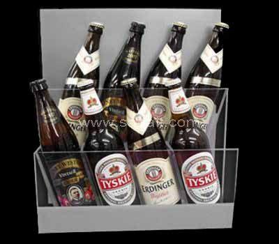 Acrylic basket for beer bottle