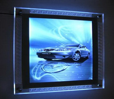 Photo frame with led light
