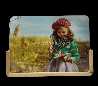 wooden acrylic photo frames