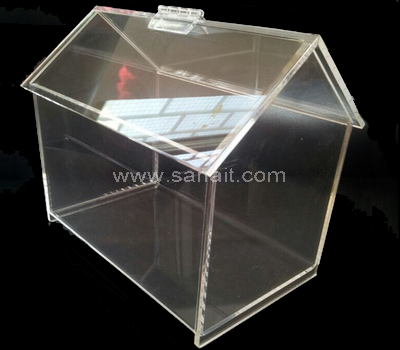 House shaped acrylic box
