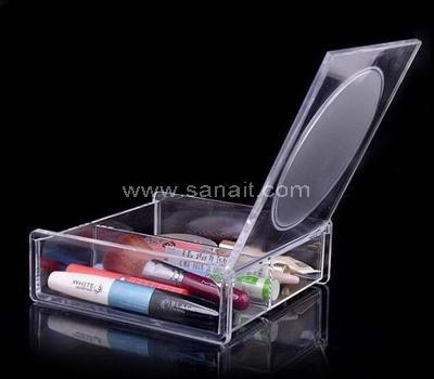 SAMD-046-2 Acrylic organizer box with mirror