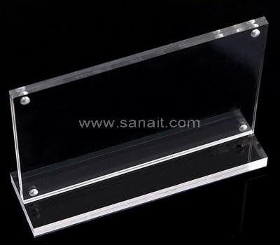 Magnetic menu holder