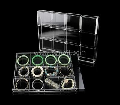 SAAB-048-3 Acrylic compartment box