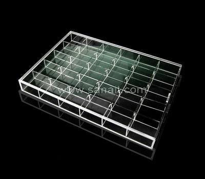 SAAB-048 Acrylic compartment box