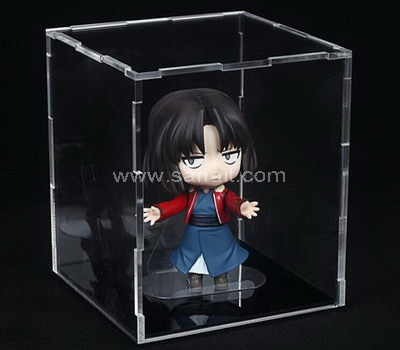 Flat packed acrylic box