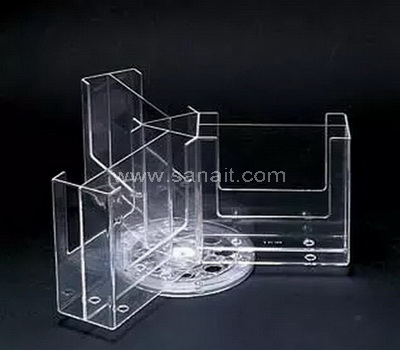 Rotating brochure display stand