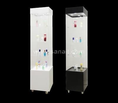 Acrylic display cabinets