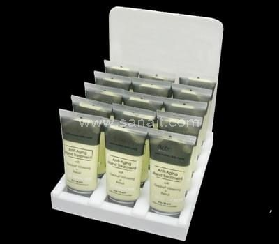 Facial cream display stand