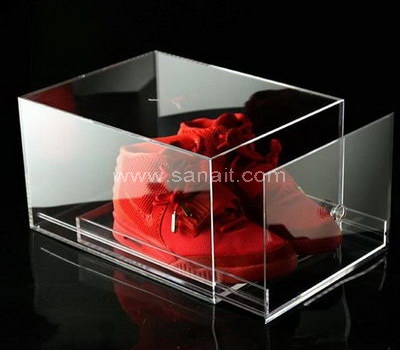 Acrylic shoe box drawer