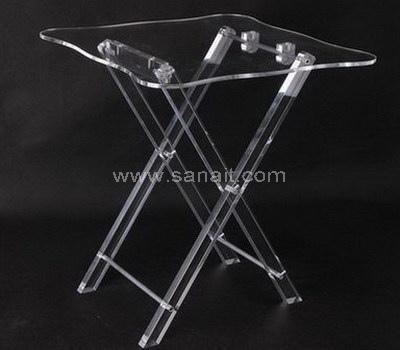 Acrylic folding table