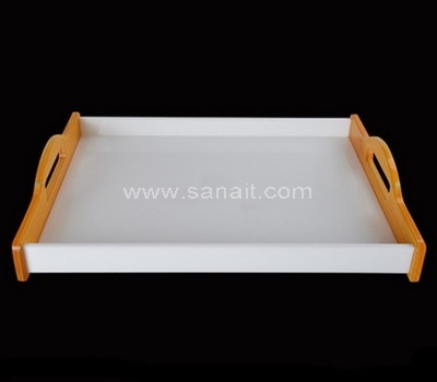 Double color acrylic tray