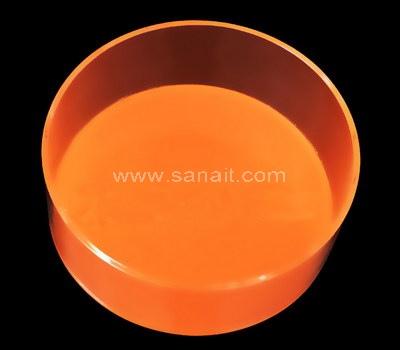 Round acrylic tray