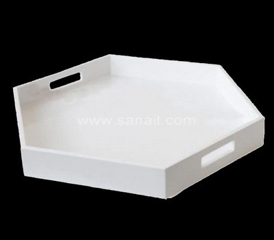 Polygon acrylic tray