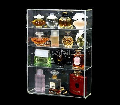 Acrylic cosmetic organizer makeup box