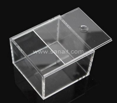 Plexiglass box with sliding lid