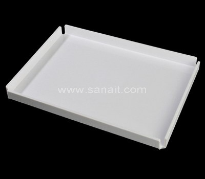 White acrylic tray