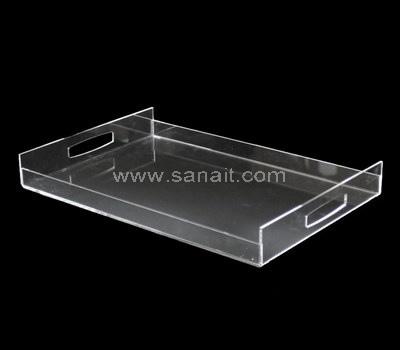 Clear acrylic tray rectangular