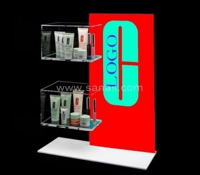 Acrylic makeup display stands