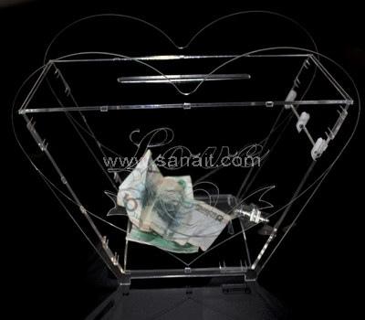 Perspex donation box