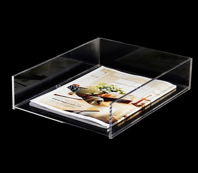 Clear paper tray