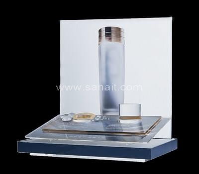 Skin care product display stand