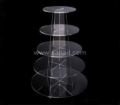 5 tier acrylic cupcake stand