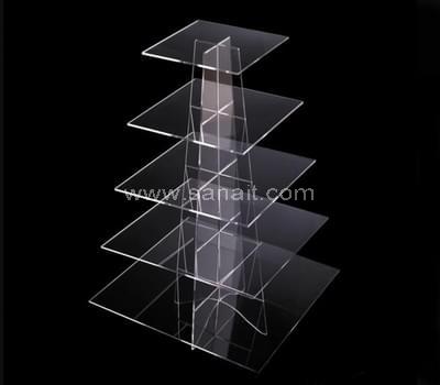 Square acrylic cupcake stand