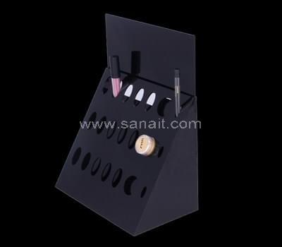 Black makeup stand