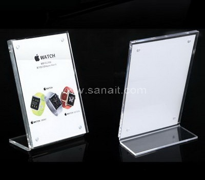 Acrylic menu holders