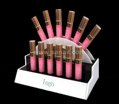 Acrylic lipstick holder display