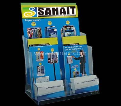 Acrylic literature rack
