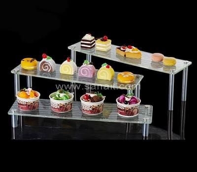 Acrylic buffet display stand