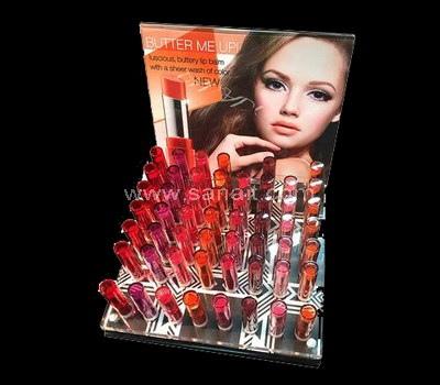 Acrylic lipstick display holder