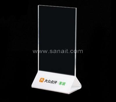 Custom plexiglass sign